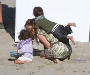 jlo, max, and emme image