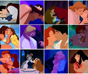 couples, disney, and love image