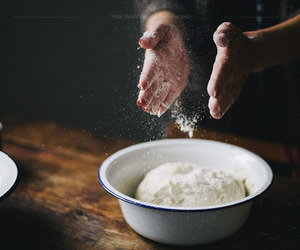 cooking, dark, and food image