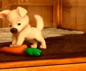 bolt, carrot, and dog image