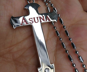 necklace, sword art online, and asuna image