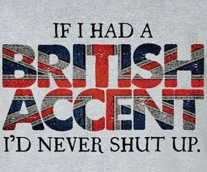 british, accent, and british accent image