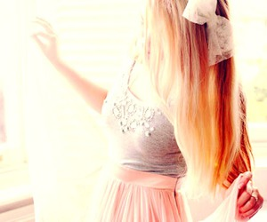 blond, hair, and lovely image