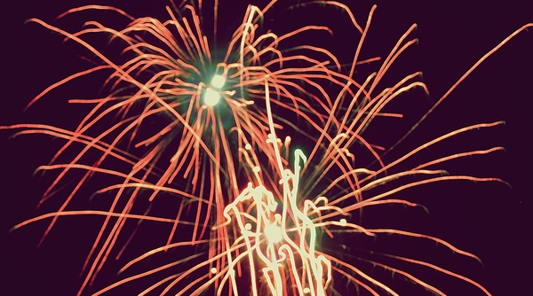 color, red, and fireworks image