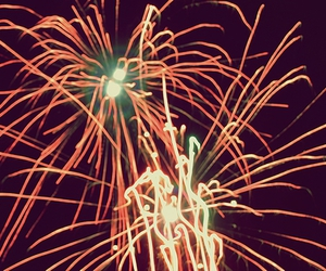 fireworks, red, and photo image