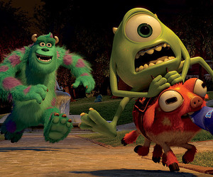 amistad, monster university, and disney channel image