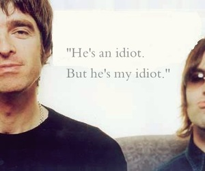 liam gallagher, noel gallagher, and brotherly love image