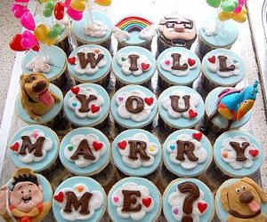 cupcake, marry, and marriage image