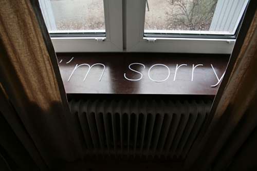 sorry and i'm sorry image