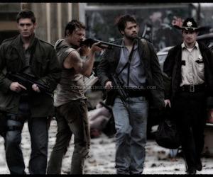 dean, guns, and rick image