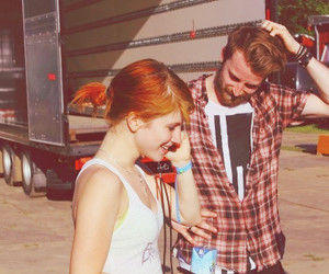 hayley williams, jeremy, and paramore image