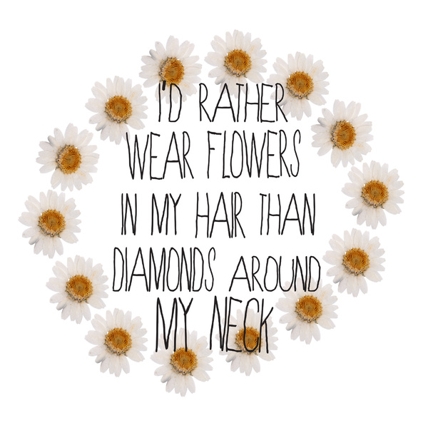 Flowers In My Hair Quotes. QuotesGram