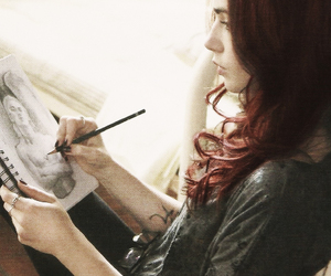 lily collins, the mortal instruments, and clary image