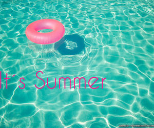 summer, pink, and text image