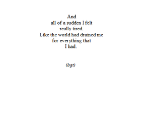 quotes, tired, and sad image
