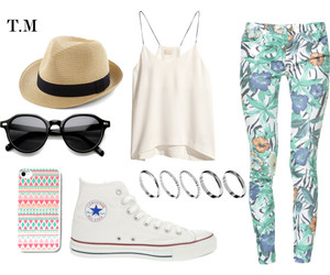 accessories, beach, and converse image