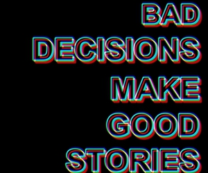 quote, decisions, and text image
