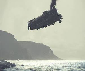 train, sea, and fly image