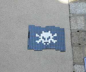space invaders and rennes image