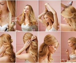 beuty, diy, and hairstyle image