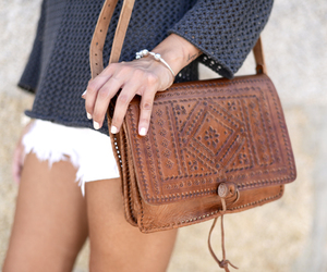 style, bag, and beauty image