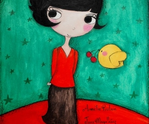 amelie and drawing image