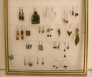 earrings, fashion, and frame image
