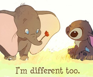 different, stitch, and dumbo image