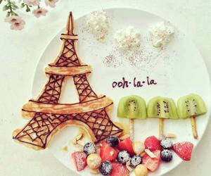 paris, food, and fruit image