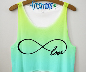 love, infinity, and blue image