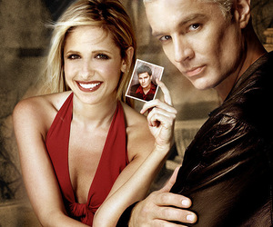 spike and buffy the vampire slayer image