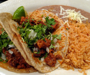 tacos, food, and mexican food image