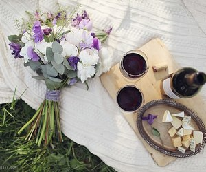 cheese, eat, and flowers image