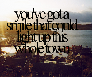 smile, quote, and town image