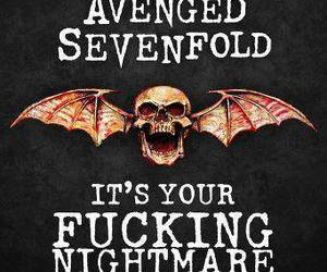 avenged sevenfold and a7x image