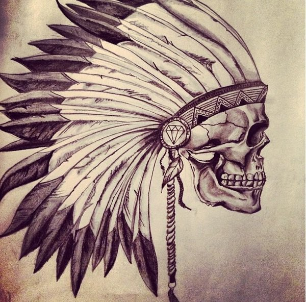 Indian Skull Shared By Chloé Drsmx On We Heart It