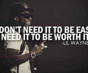 quote, lil wayne, and Easy image