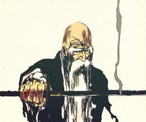 anime, bleach, and yamamoto genryusai image