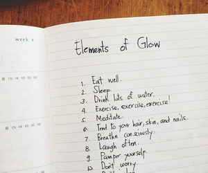 glow, quote, and elements image