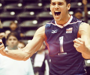 usa and volleyball image
