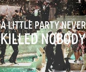 party, quote, and the great gatsby image