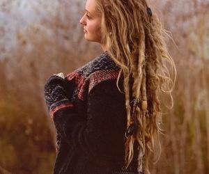 dreadlocks, girl, and hippie image