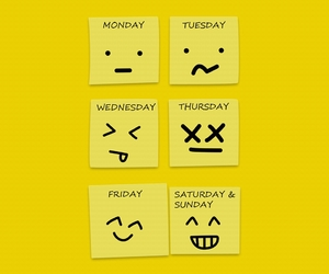 week, days, and friday image