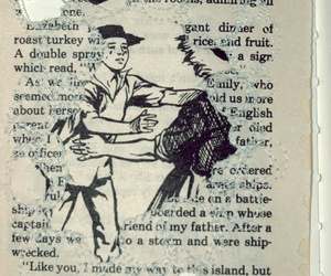 stitching, vintage, and old book image