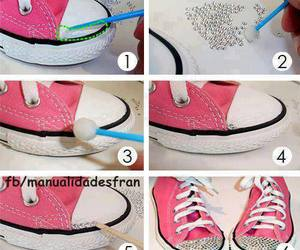 converse, shoes, and tutorial image