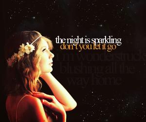 Taylor Swift, enchanted, and Lyrics image