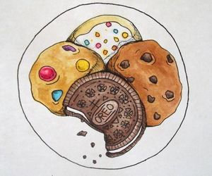 Cookies, love, and oreo image