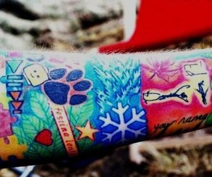 ed sheeran and tattoo image