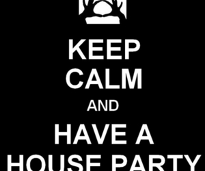 3OH!3, house party, and keep calm image