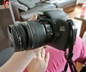 canon, camera, and quality image